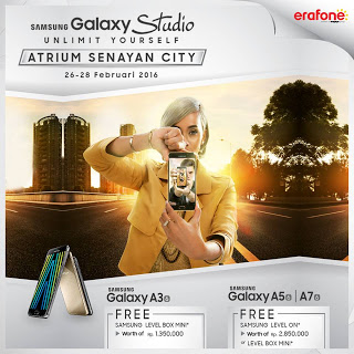 Galaxy A Series 2016 Promo Bonus Headphone dan Speaker di Samsung Galaxy Studio