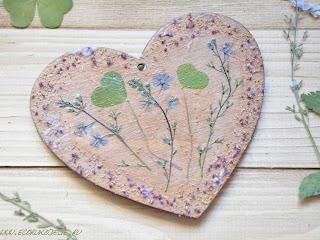валентинки из природных материалов
