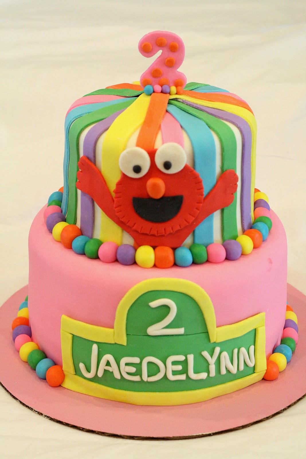 Sweet Amp Sassy Cakes Girly Elmo