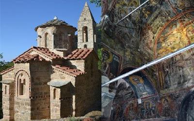 Ευρωπαϊκό Βραβείο στον ναό του Αγίου Πέτρου στην Καστάνια Μεσσηνιακής Μάνης