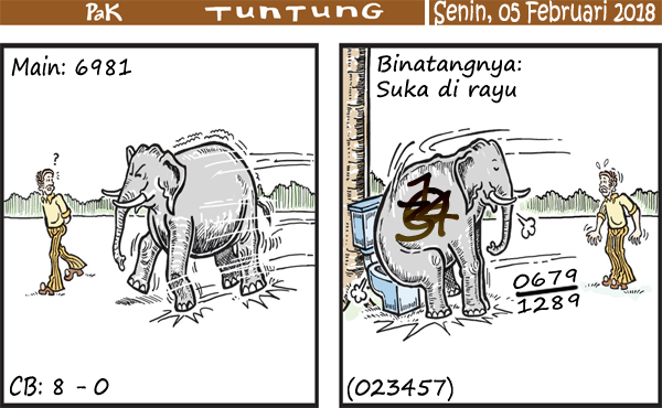 Prediksi Gambar Pak Tuntung Senin 05 02 2018