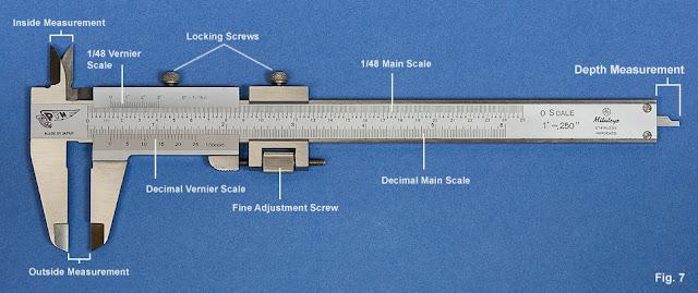Vernier Caliper Diagram Vernier Calipers