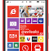 Leaked official image of the red version of the phone Lumia 1520