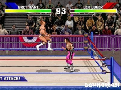WWF Wrestlemania PSX Game