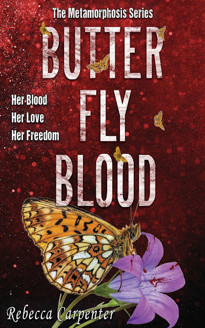 Cover Reveal: Butterly Blood by Rebecca Carpenter