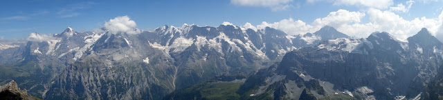 "Alps, Bernese, Swiss, Switzerland, Bern, Interlaken, Lauterbrunnen, Murren, Cable Car, how to get up the Schilthorn, James Bond, filming locations, price, Schilthorn, view, Eiger, Monch, Jungfrau, Birg, cost, price, North Face, budget, hike, easy hike, mountain, ""On Her Majesty's Secret Service"","