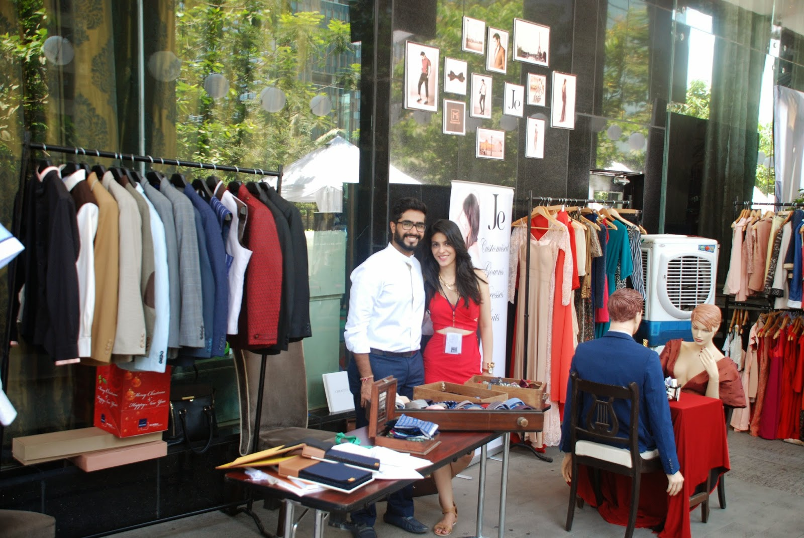 Je & MonsieurM at Couture & Canvas Brunch at Sofitel,BKC