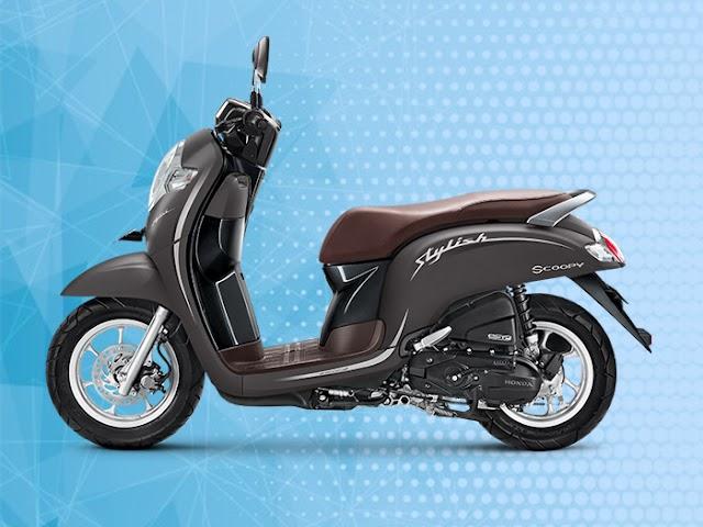 Motor New Honda Scoopy Tampil Lebih Stylish dan Fashionable