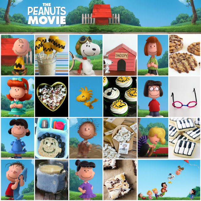Food and Projects inspired by The Peanuts Movie from #BlockbusterBloggers
