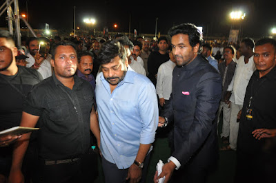 megastar Chiranjeevi at MB40 Years Celebrations