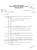 UFO Report (Gwinner, North Dakota) (Pg 1) - North Dakota Air National Guard (NDANG) 9-25-1966