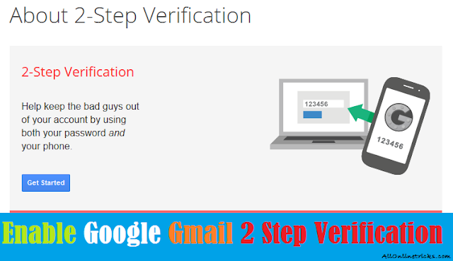 7 Simple Steps To Enable Google Gmail 2 Step Verification [Security Tips]