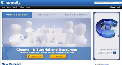 Belajar Cinema 4D Gratis di cineversity