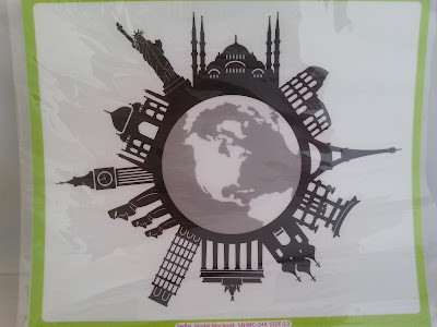 #vati  World Famous Buildings Laptops Decal Sticker