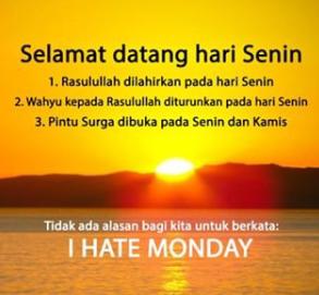 Kata Kata Ucapan Selamat Hari Senin Pagi