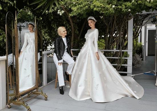фото з весілля Міранди Керр