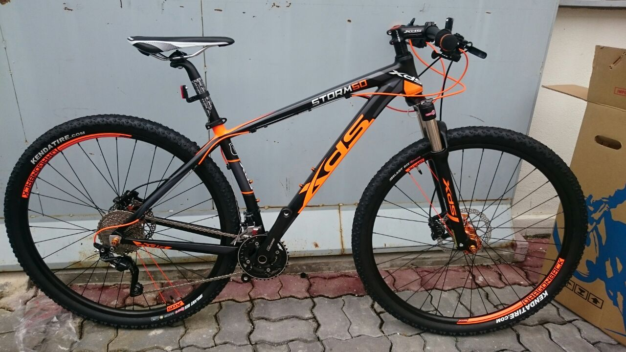 83af5e42b0a 29ER MTB - XDS STORM 50 with XDS Premium X6 Geometry Frame, Shimano Deore  Crankset/Shifters/FD/RD, 20 Speed, Shimano Hydraulic Disc Brake, ...