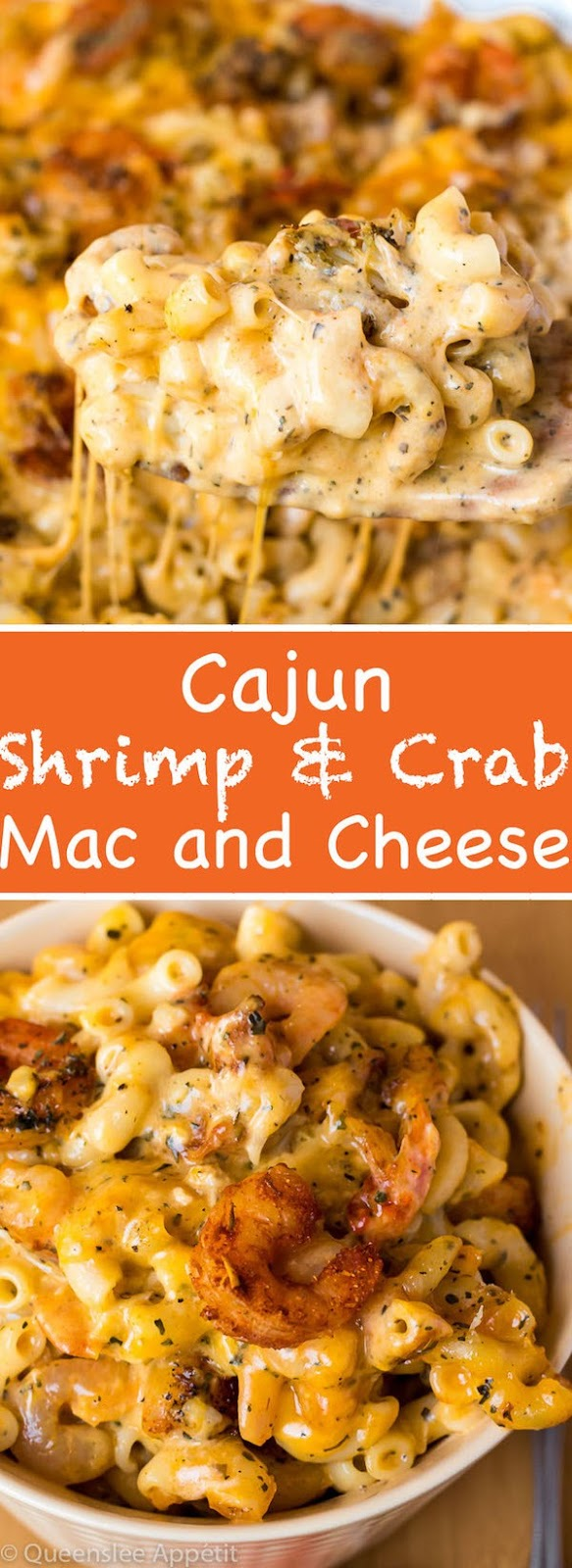 Creamy Cajun Shrimp and Crab Mac and Cheese