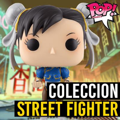 Lista de figuras funko pop de Funko POP Street Fighter