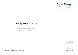 Delta Vision Mietpreisliste