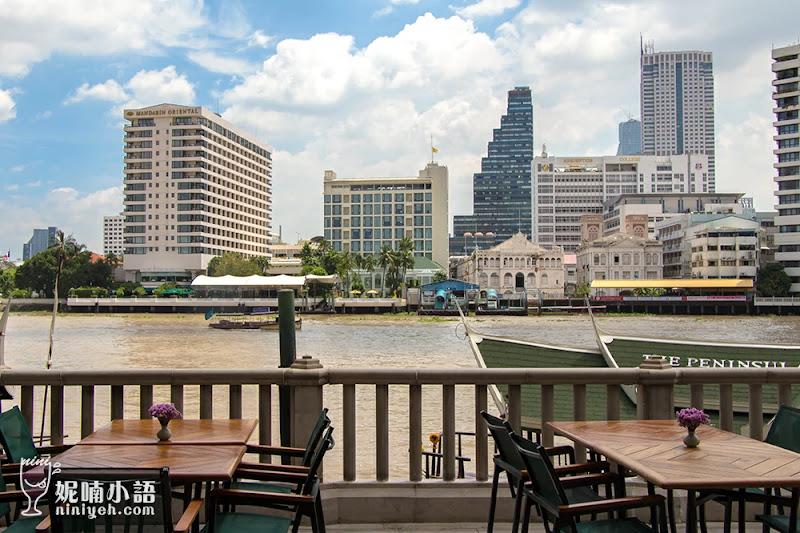 【曼谷住宿推薦】半島酒店The Peninsula Bangkok。河畔景觀無國界早餐