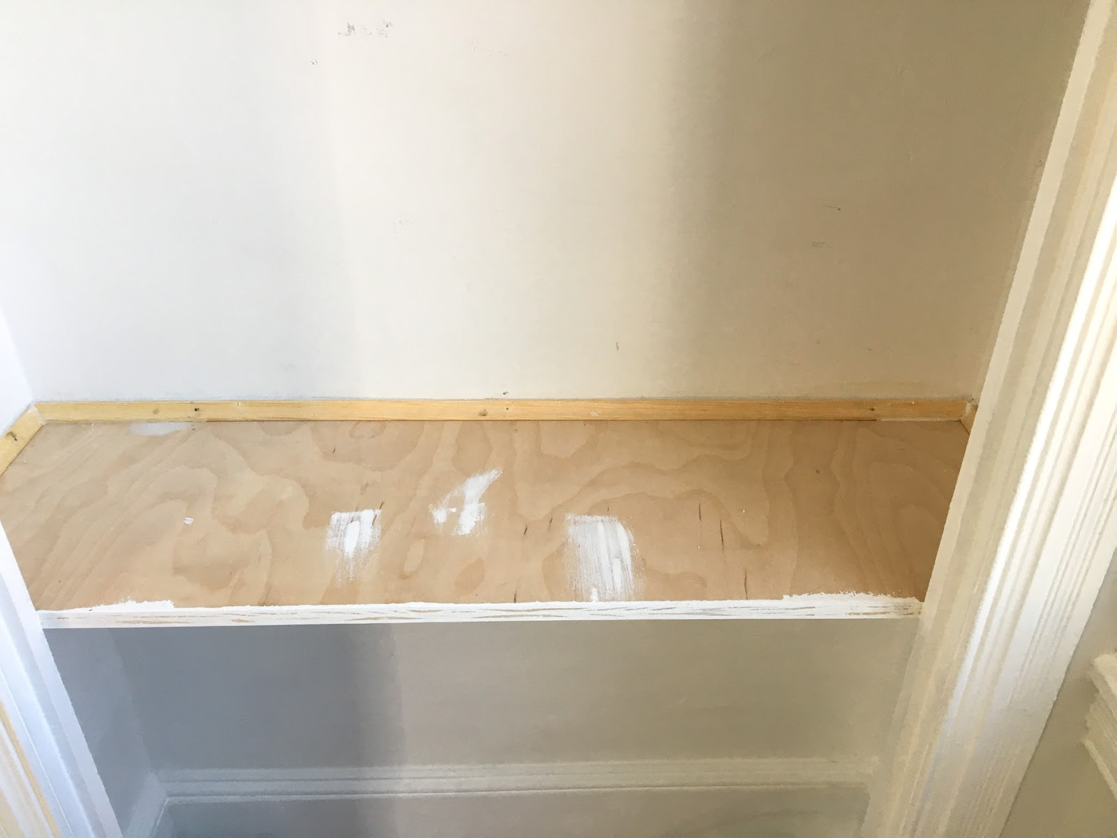 DIY Custom Workspace with Desk inside a Closet