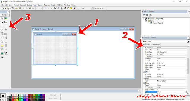 Cara membuat aplikasi kasir di visual basic 6.0