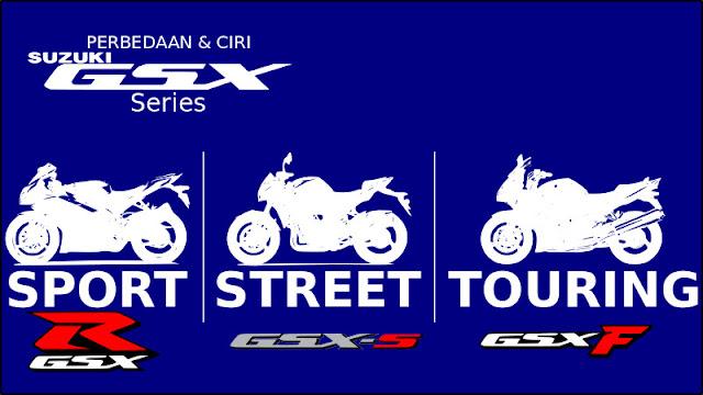 Suzuki GSX series family
