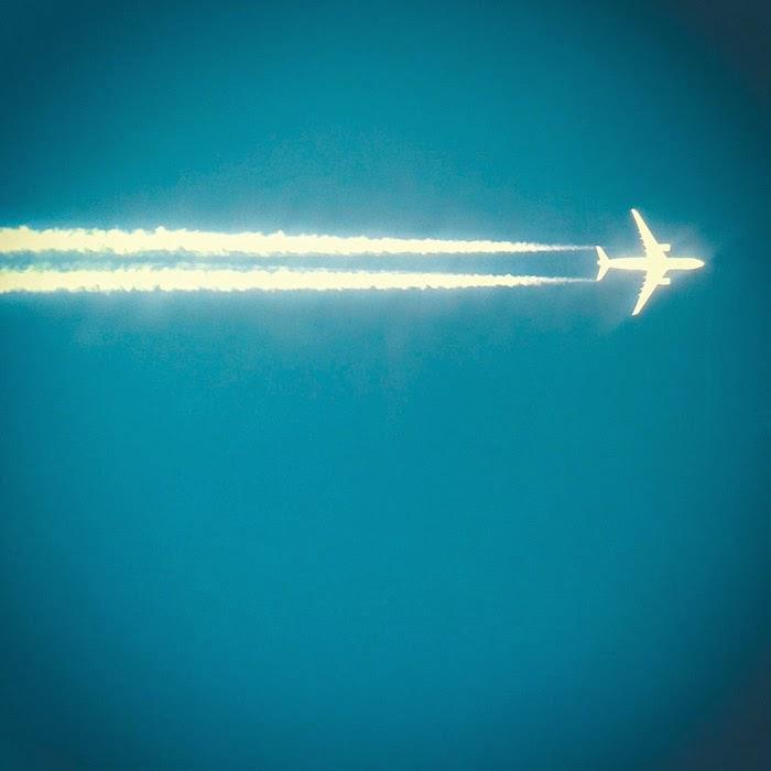 aereo in cielo
