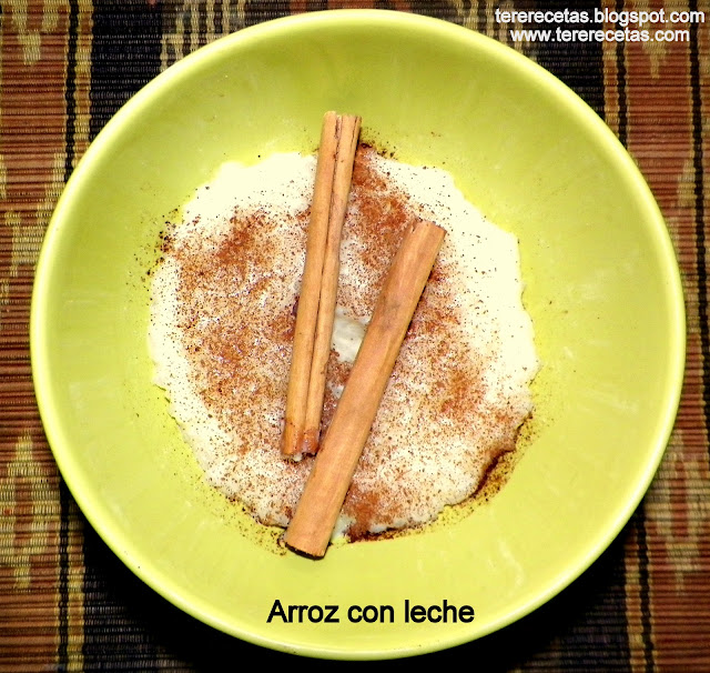 recetas de la abuela arroz con leche