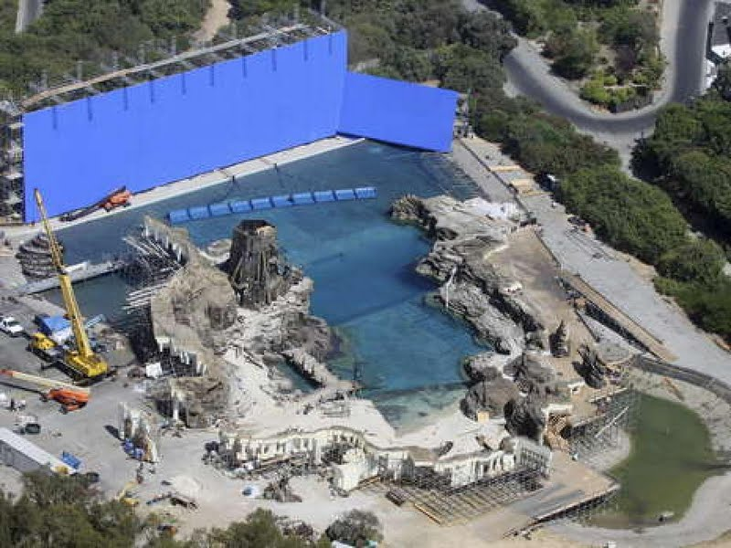 This Is Allegedly The Los Angeles Set Of Mermaid Lagoon At Universal Studios Via