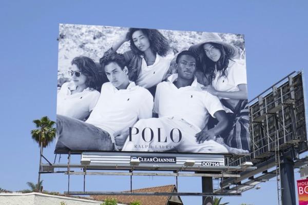 Polo Ralph Lauren SS18 billboard