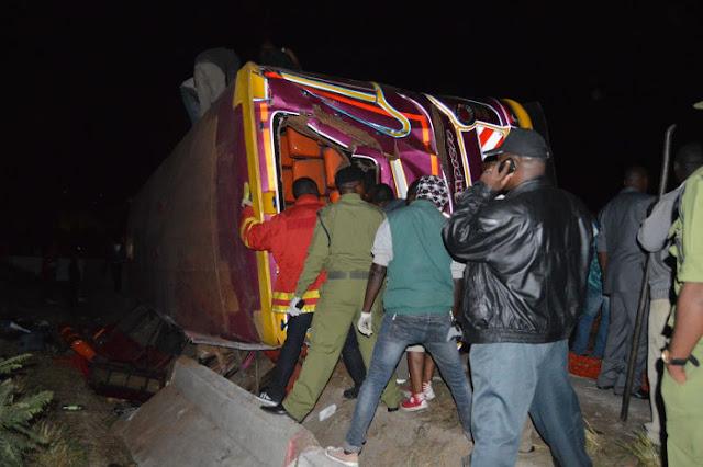 Basi Kutoka Mwanza Laua 6 na Kujeruhi 38
