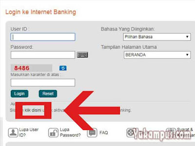 login internet banking bni
