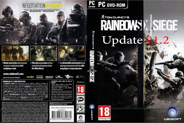 Tom Clancy's Rainbow Six® Siege update v1.2 indir