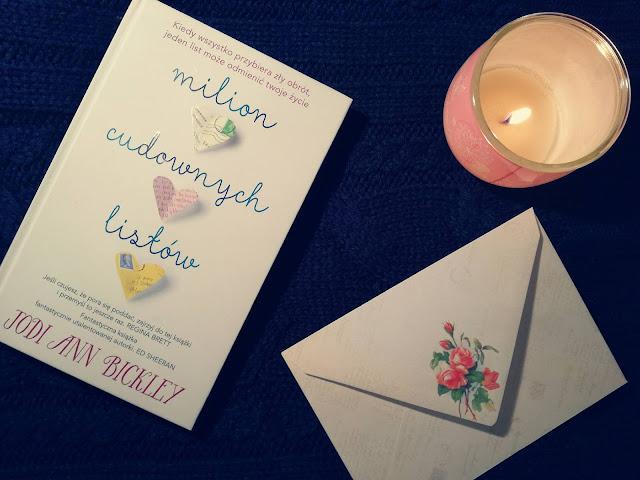 """""""Milion cudownych listów"""" - Jodi Ann Bickley (recenzja książki)"""
