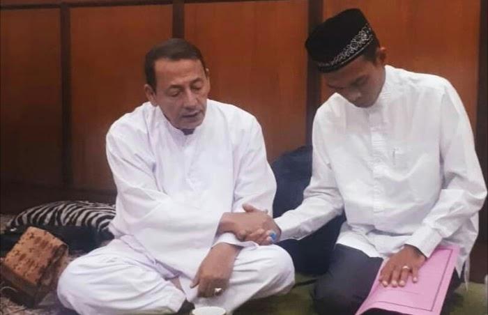 Alhamdulillah, Sowan Ke Habib Luthfi Ustadz Abdul Somad Baiat Thariqah Qadiriyah