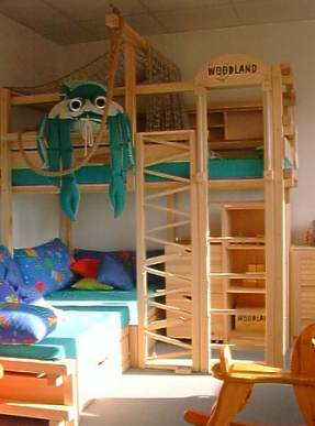 Camas cuchetas bunk beds by cama - Dormitorios infantiles con tobogan ...