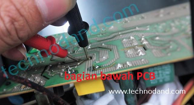 UPS vektor VT1200i Tidak konek listrik PLN ( Bunyi terus )