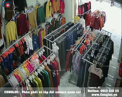 Cung cấp lắp camera giá rẻ cho Shop thời trang