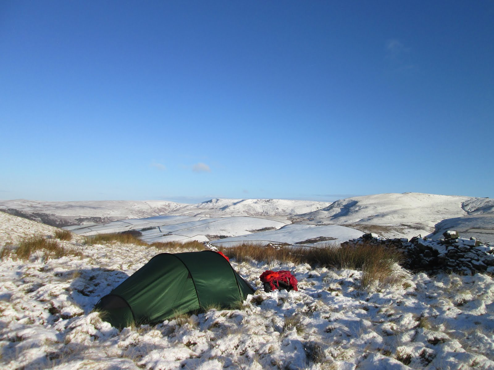Winter camp on Kinder