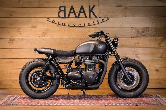 Triumph Bonneville T120 By Baak Motorcycles Hell Kustom