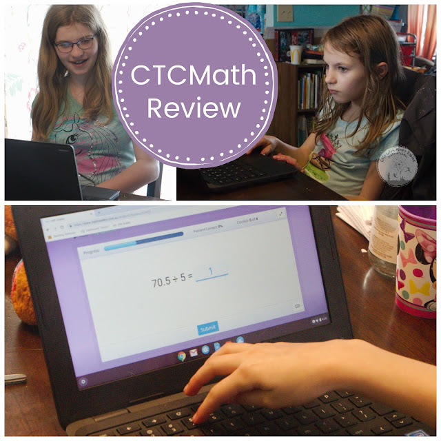 Review of CTCMath for Homeschool
