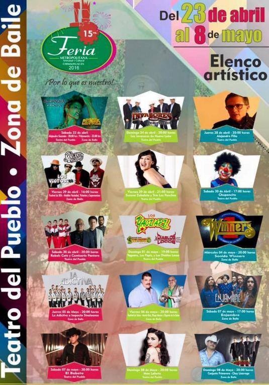 feria chimalguacan 2016 programa