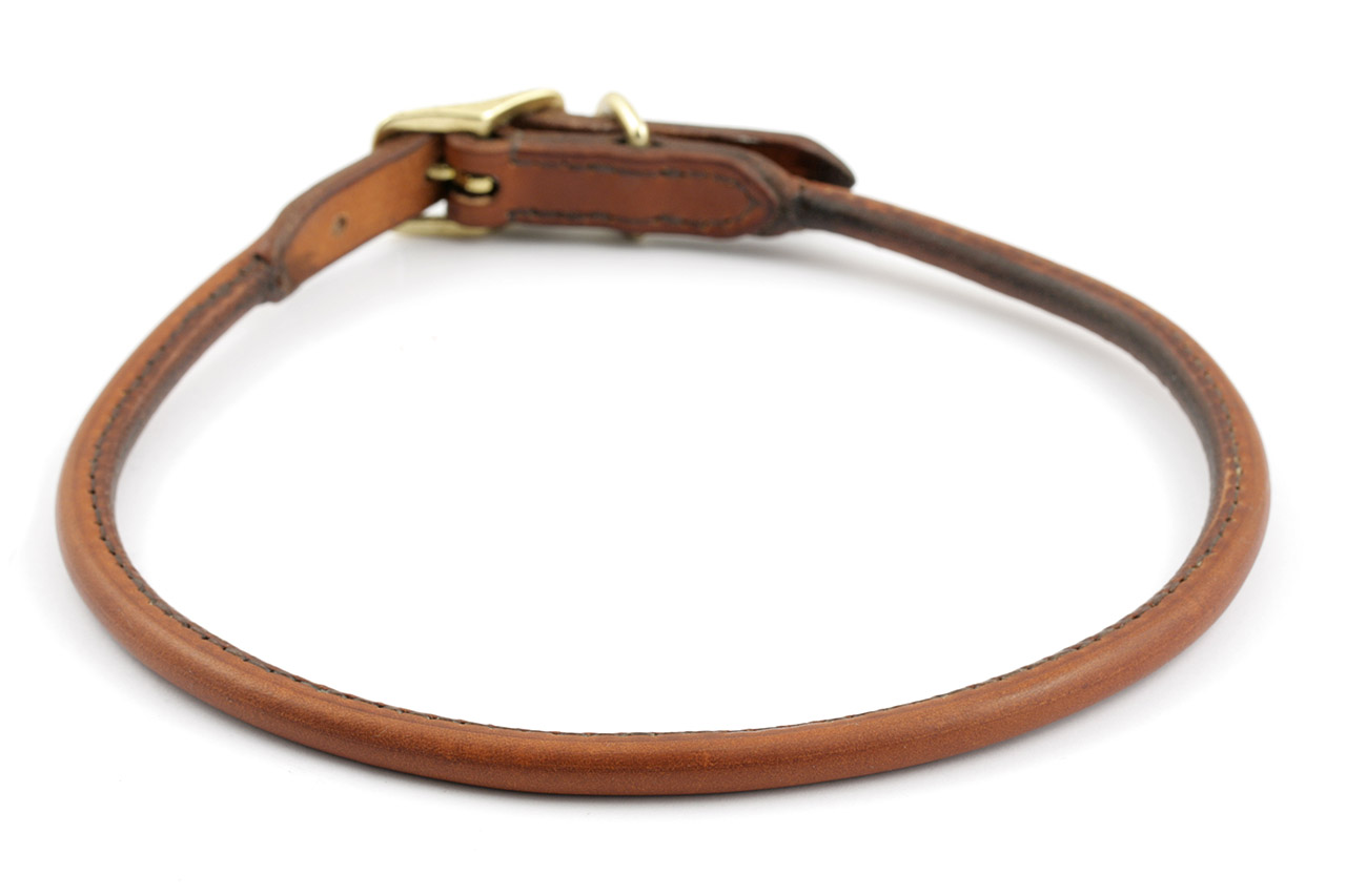 Whippet Leather Dogs Collar