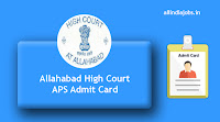 Allahabad High Court APS Admit Card