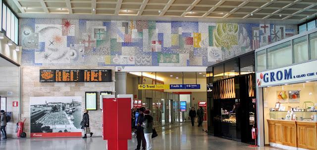 Main hall of the Stazione Ferroviaria, Venice