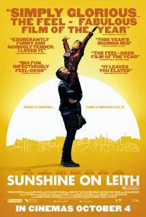 Poster Of Hollywood Film Sunshine on Leith (2013) In 300MB Compressed Size PC Movie Free Download At worldfree4u.com