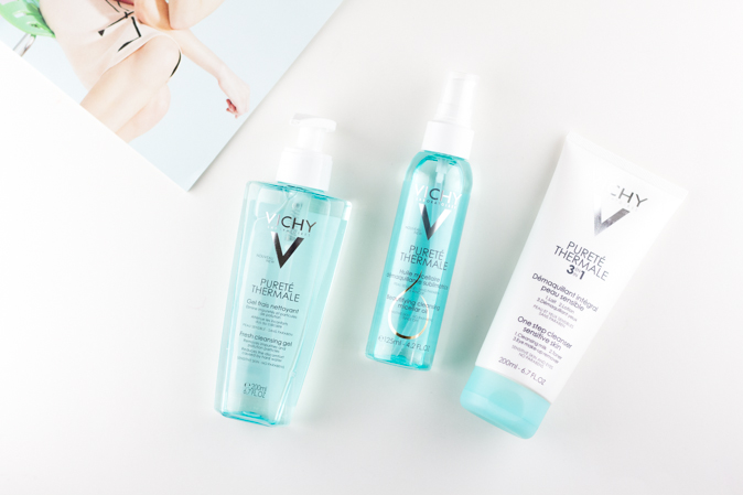 vichy purete thermale cleansers and micellar oil review