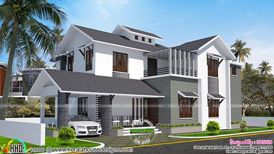 ₹18 lakh cost estimated remodeling home plan